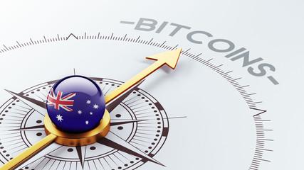 Australia Bitcoin Concept