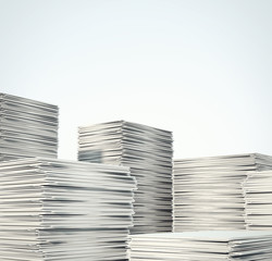 piles of documents