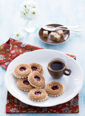 Espresso and cookies