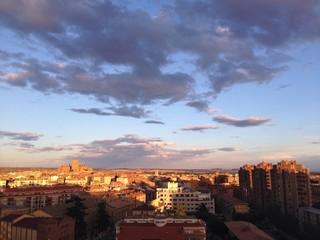 vista de la ciudad de Huesca
