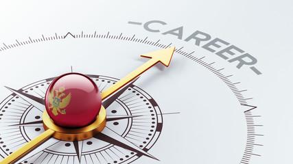 Montenegro. Career Concept