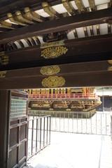 輪王寺大猷院 本殿の回廊