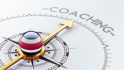 Costa Rica. Coaching Concept