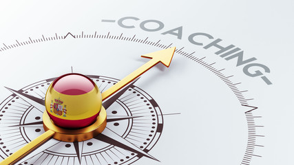 Spain Coaching Concept