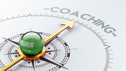 Saudi Arabia Coaching Concept