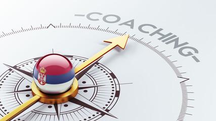 Serbia Coaching Concept