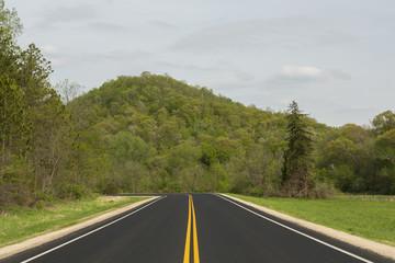 Spring Highway Scenic