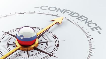 Slovenia Confidence Concept
