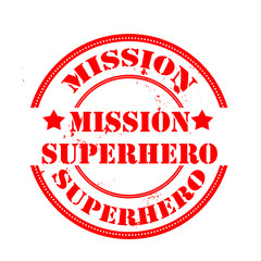 mission superherostamp