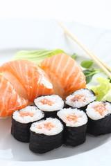 Composizione di sushi