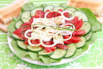gemischer Salat