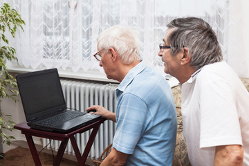 Seniors computer learning
