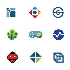 IT developer game company community fun ideas logo icon