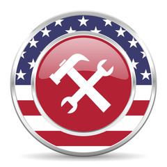 tool american icon, usa flag