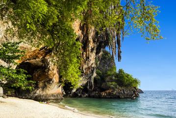 Phra Nang beach and cave at Railay