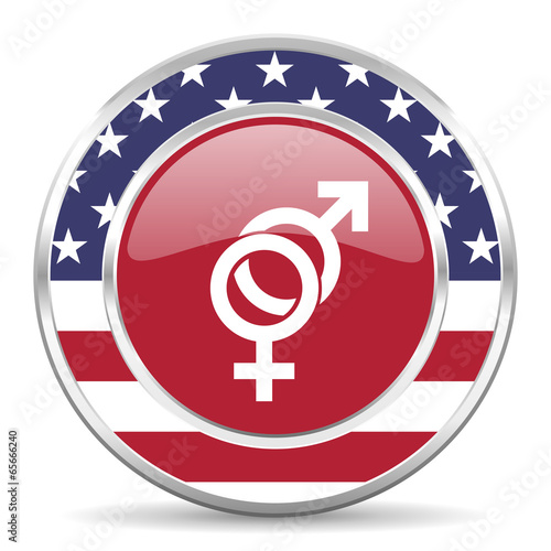 sex american icon, usa flag