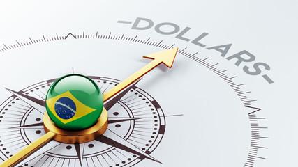 Brazil Dollars Concept