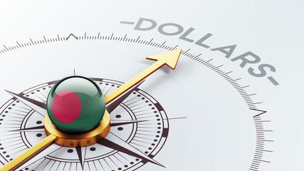 Bangladesh Dollars Concept