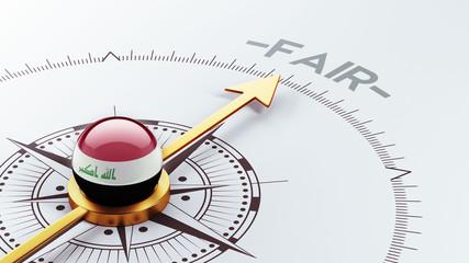 Iraq Fair Concept