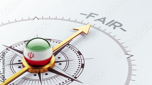 Iran Fair Concept