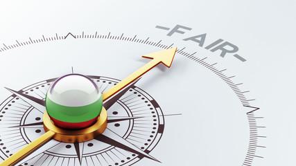 Bulgaria Fair Concept