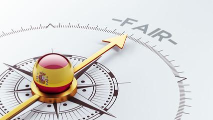 Spain Fair Concept