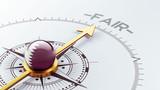 Qatar Fair Concept