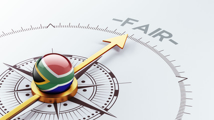 South Africa Fair Concept