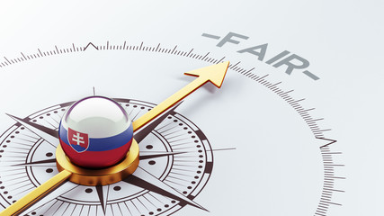Slovakia Fair Concept