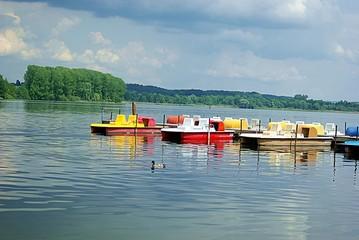 Tretboote in Bayern
