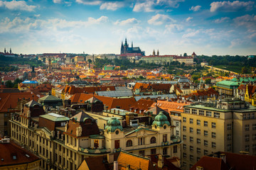 view on the Prague
