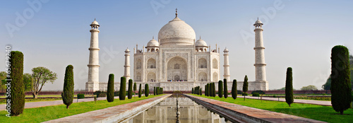 canvas print picture Taj Mahal, Agra