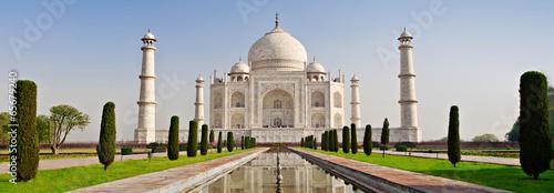 Poster Historisch geb. Taj Mahal, Agra