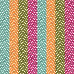 Chevrons seamless pattern background. Vector