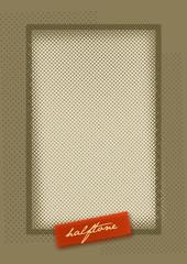 Halftone Pattern Design Background