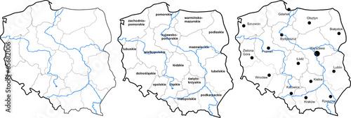 Polska mapa - 65682006