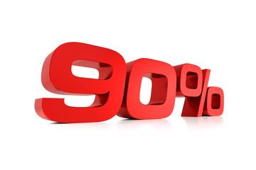 Serie Prozente - 90 Prozent