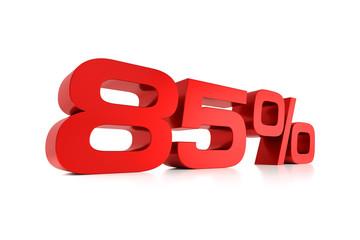 Serie Prozente - 85 Prozent