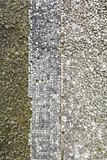 Old stone mosaic