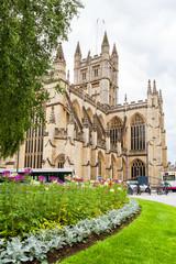 Bath Abbey. Bath, Somerset, England