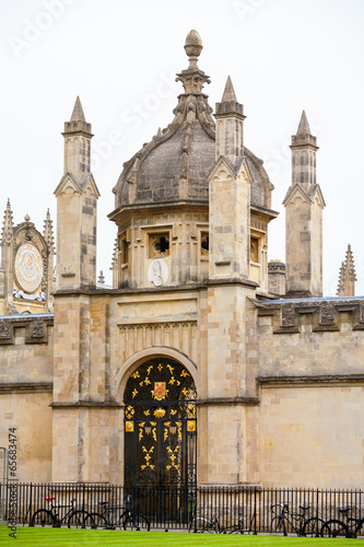 Foto op Canvas Texas All Souls College entrance gate. Oxford, UK