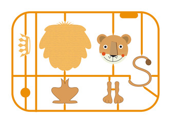 Bausatz Löwe