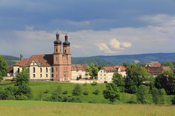 Abbaye bénédictine de St-Pierre en Forêt-Noire (Allemagne)