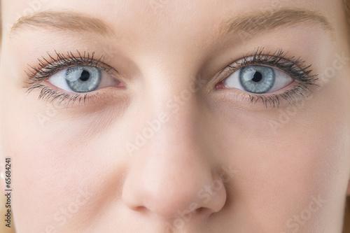 canvas print picture Closeup woman eyes