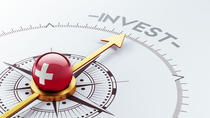 Switzerland Invest Concept.