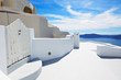 The house on Santorini island, Greece