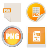 Png icon set poster