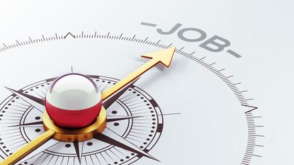 Poland Job Concept