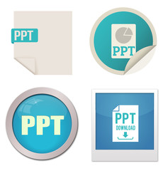 Ppt icon set