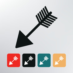bow arrow icon.